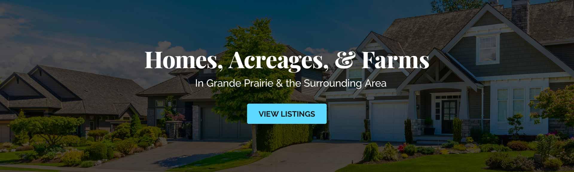 Homes, Acreages, & Farms